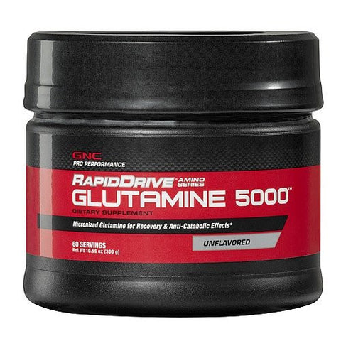 GNC Pro Performance RapidDrive Glutamine 5000 Unflavored 10.56 oz