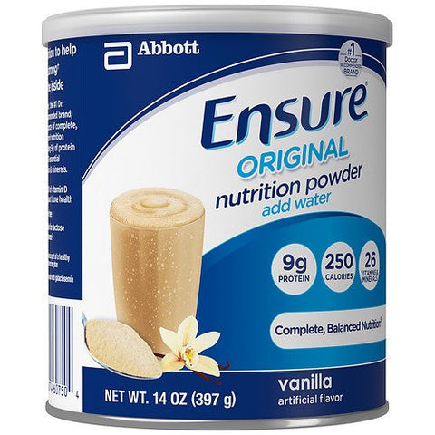 Ensure Nutrition Powdered Shake, Vanilla 14 oz (397 g)