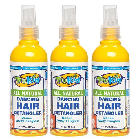 TruKid 3 Pc Value Pack Trukid Dancing Detangler 7 Oz