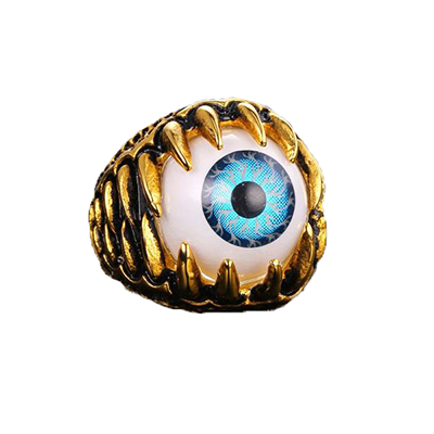 The Evil Eye Gold Plated Ring