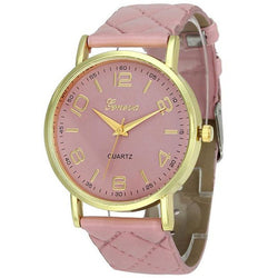 Fashion Geneva Ultrathin Leather Band Watch, 9 Different Colors!