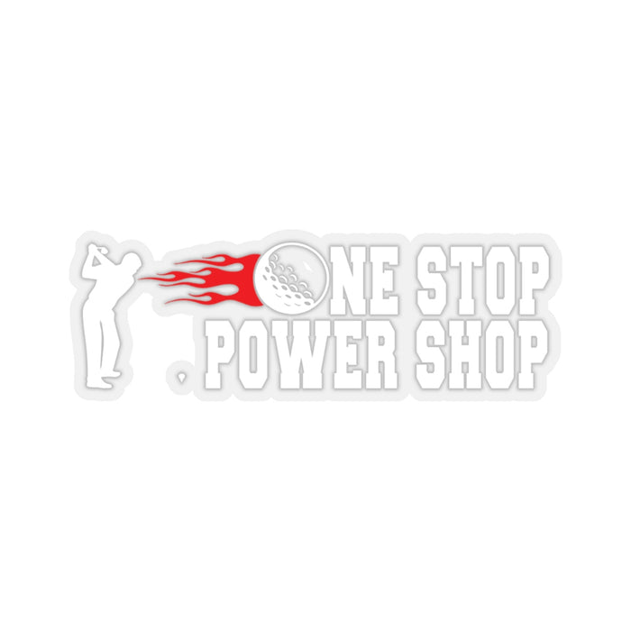 OSPS Stickers - One Stop Power Shop Long Drive & Golf Store