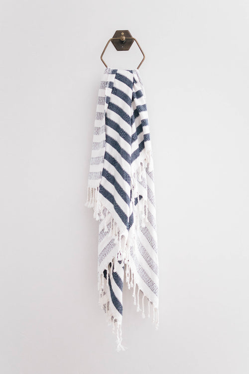 THE MALIBU TOWEL NAVY