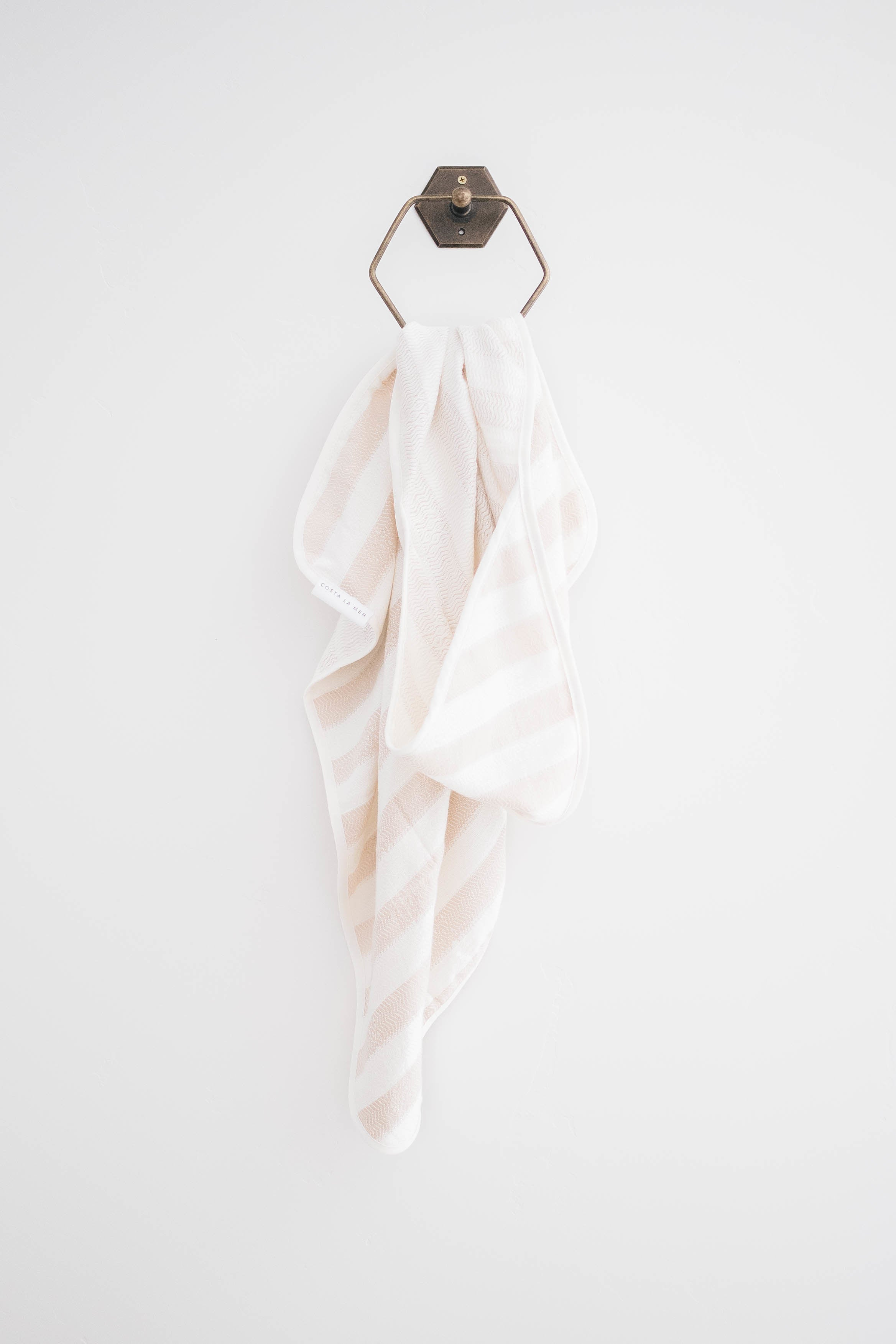 MALIBU HOODED TOWEL - TAN