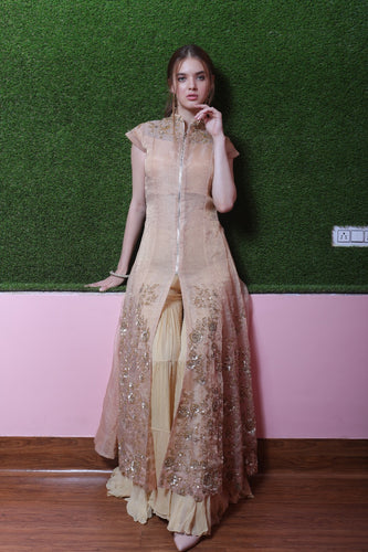 Kaanish Couture - Gold Gharara