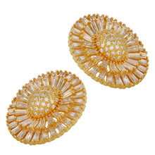 Golden Dahalia Earrings