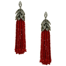 Red Bead Shoulder Dusters