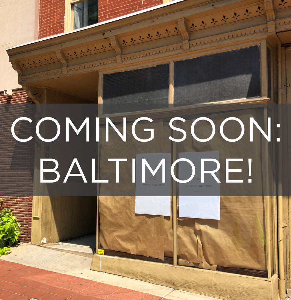 Coming Soon: Baltimore!