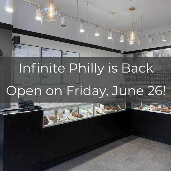 Infinite is Back Open!