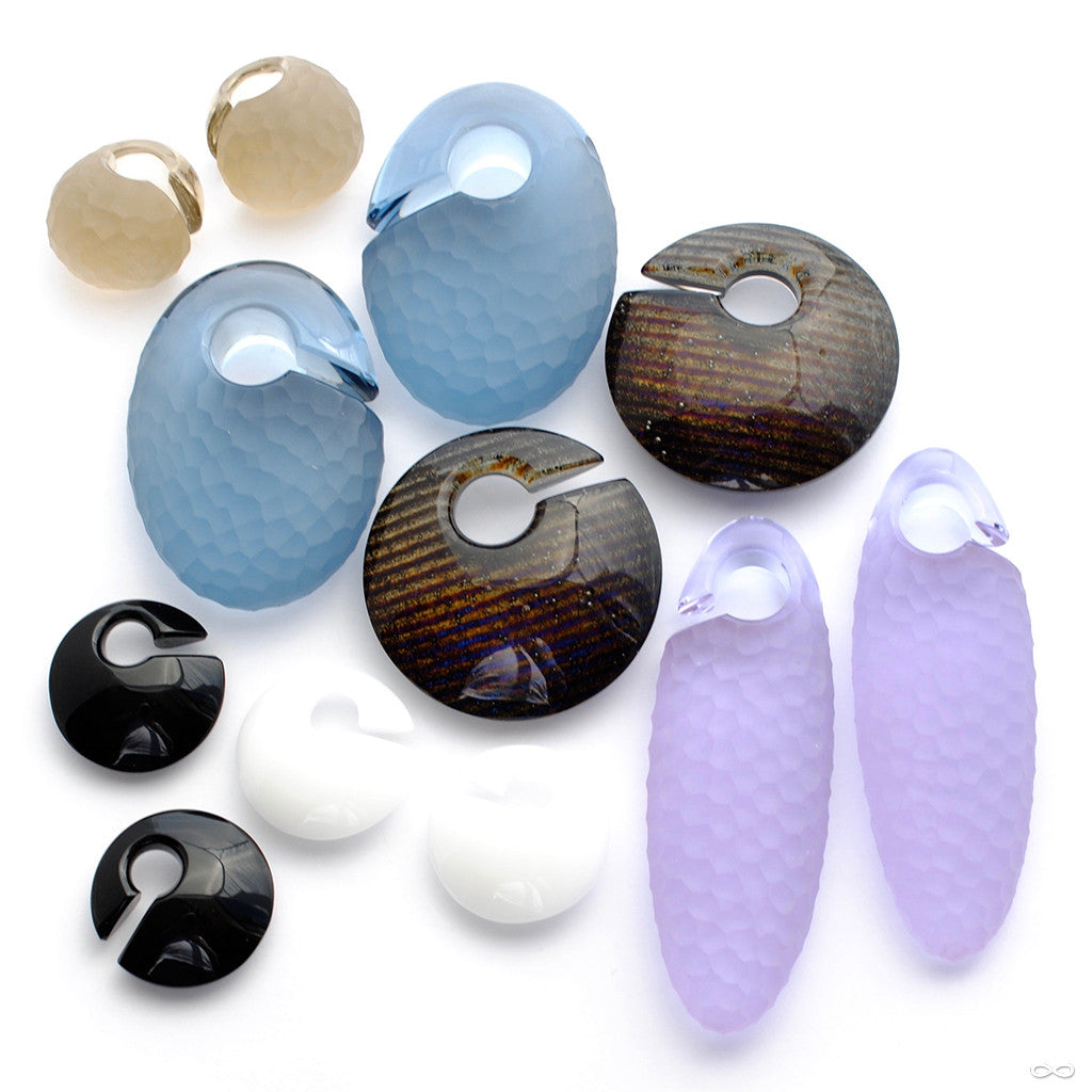 Gorilla Glass Ear Weights