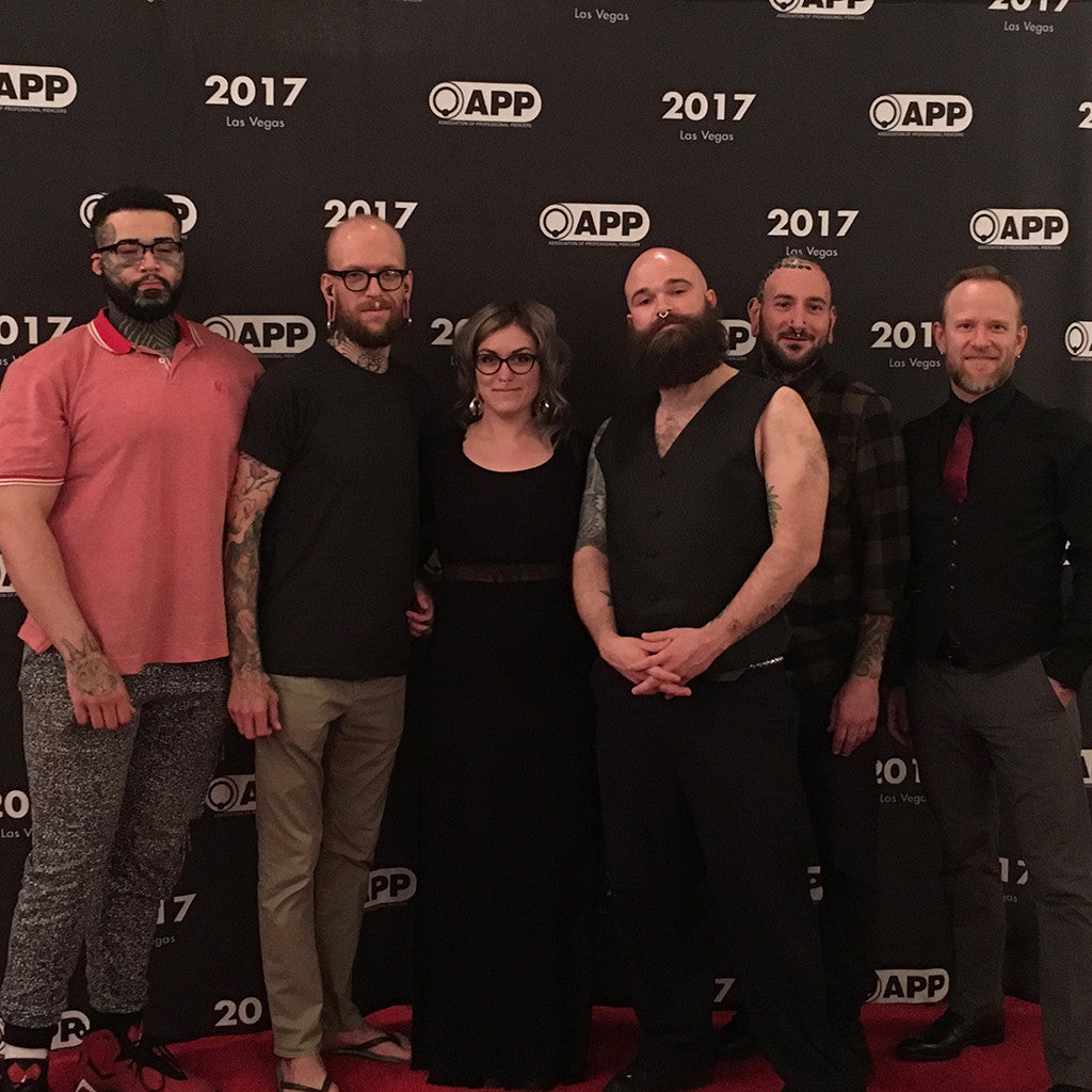 Infinite Crew at APP 2017 Banquet