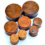 Amboyna Burl Plugs & Eyelets from Bishop