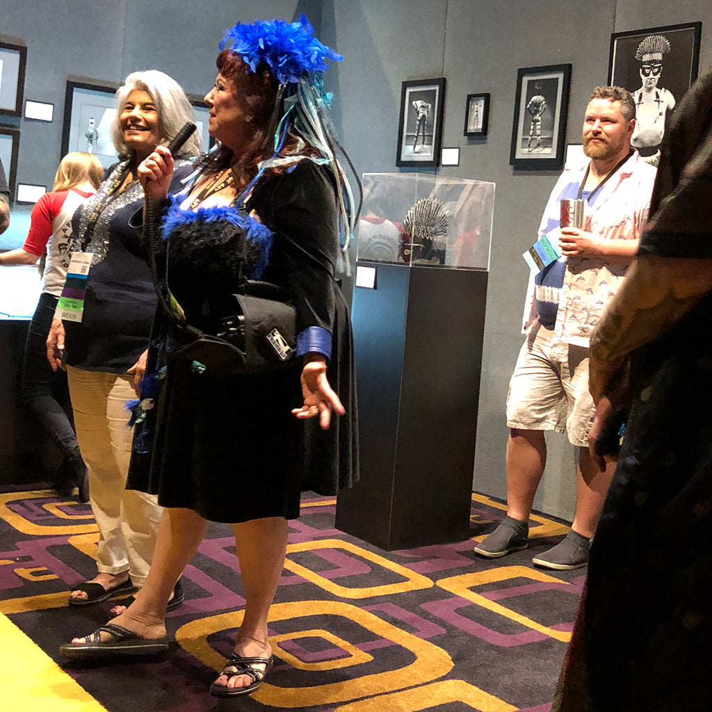 Annie Sprinkle and Veronica Vera at APP 2019