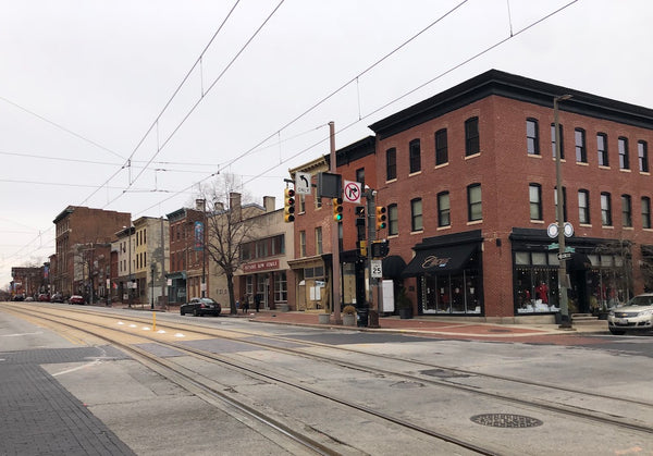 Antique Row Baltimore
