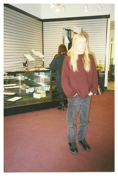 James Weber at Infinite Body Piercing in 1995