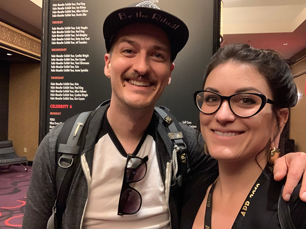 Jes and Kellan from Infinite Body Piercing, at APP 2019