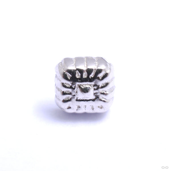 Zeta 04 Press-fit End in Gold from Tether Jewelry in white gold