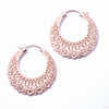 Manuka Earrings from Maya Jewelry in rose gold