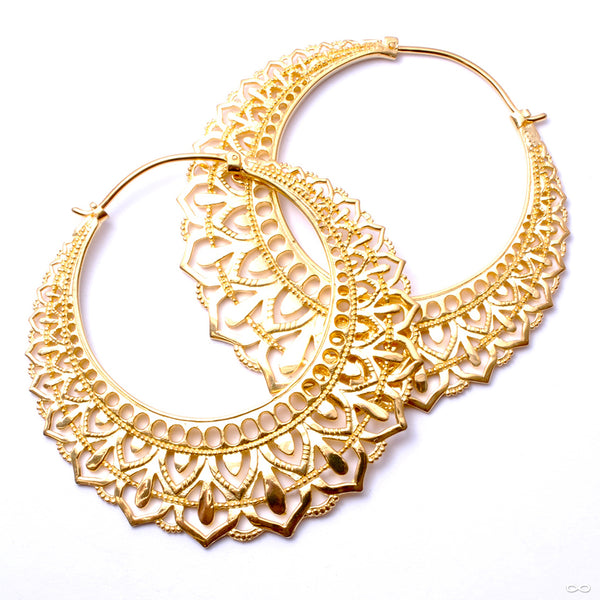 Manuka from Maya Jewelry in Yellow-gold-plated Brass