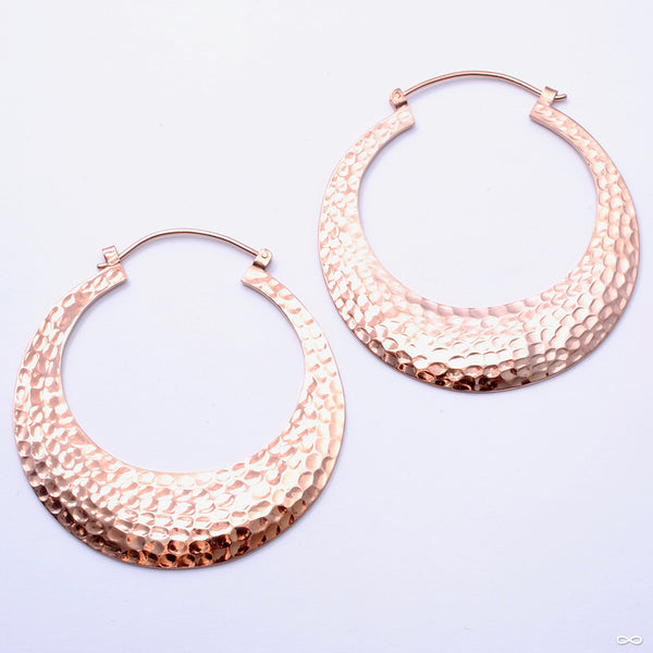 Brooklyn Earrings from Oracle in Rose Gold