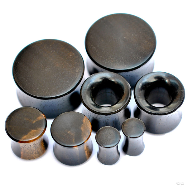 Ebony Plugs & Eyelets from Bishop Organics
