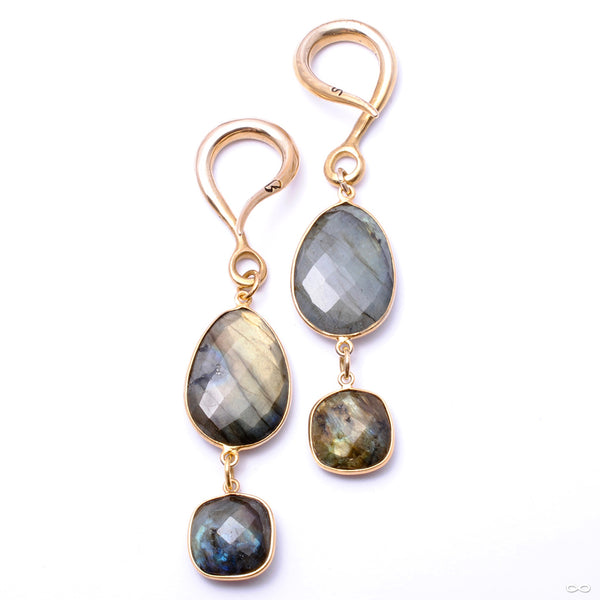 Crossovers with Faceted Labradorite from Oracle