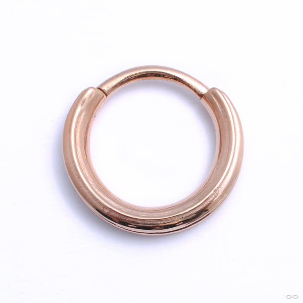 Chasm Clicker from Tether Jewelry in rose gold