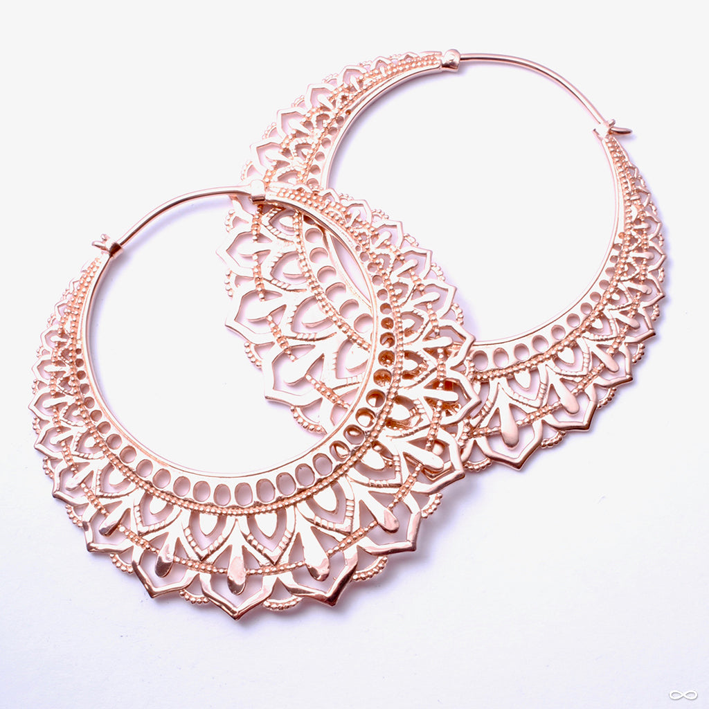 Manuka from Maya Jewelry in Rose-gold-plated Copper