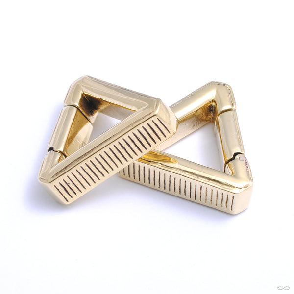 Pyramis Weights from Tether Jewelry