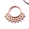 Afghan Seam Ring in Gold from Tawapa in rose gold