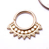 Afghan Seam Ring in Gold from Tawapa in yellow gold