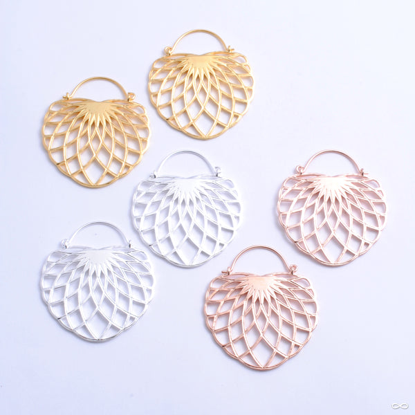 Aurora Earrings from Tether Jewelry in assorted materials