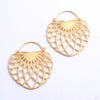 Aurora Earrings from Tether Jewelry in yellow gold