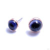 Bezel-set Cabochon Press-fit End in Gold from BVLA with iolite