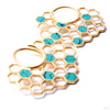 Buzz from Buddha Jewelry with turquoise