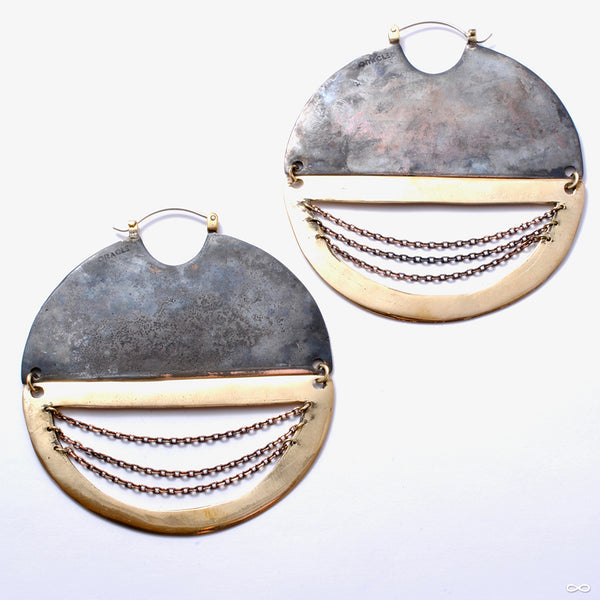 C.R.E.A.M. Earrings with Chains from Oracle