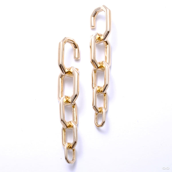 Chain Link Weights from Tawapa in brass