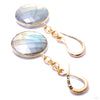 Crossovers with Round Faceted Labradorite from Oracle