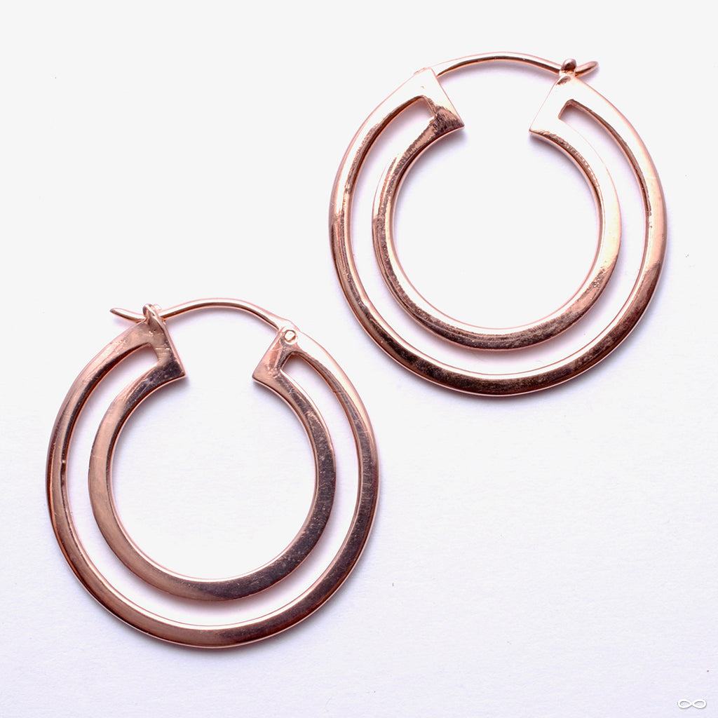 Double Duchess Earrings from Maya Jewelry in rose gold