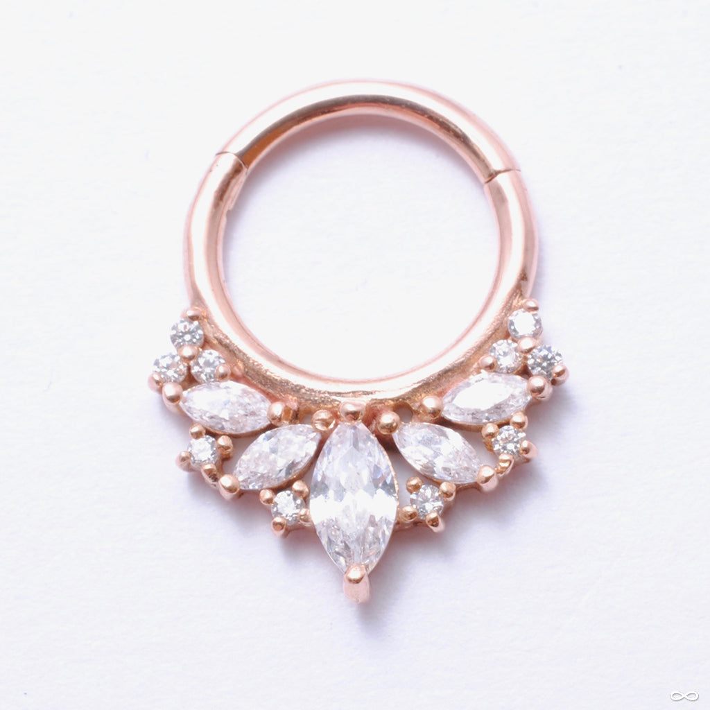 Elite Clicker in Gold from Buddha Jewelry in rose gold