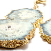 Gold Dipped Geode Slices from Diablo Organics