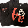 LOVE/Bling Cropped Tank