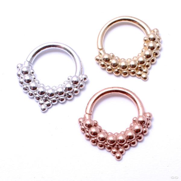 Mist Seam Ring in Gold from Tawapa in assorted materials