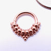 Mist Seam Ring in Gold from Tawapa in rose gold