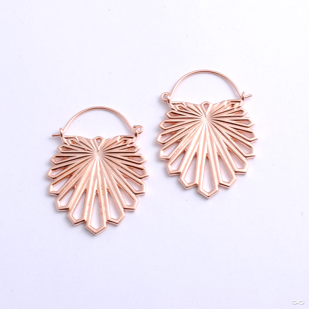 Myriad Earrings from Tether Jewelry in rose gold