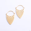 Nirvana Earrings from Tether Jewelry in yellow gold