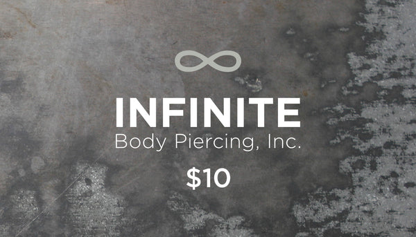 Online Store Gift Card for infinitebody.com for $10