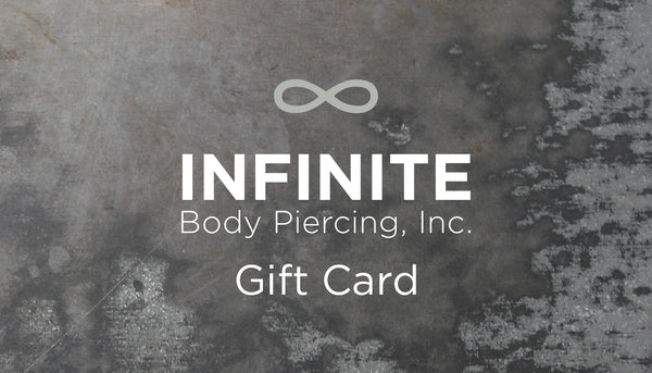 Online Store Gift Card for infinitebody.com