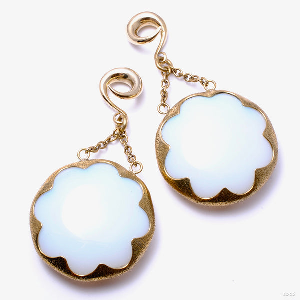 Opalite Cushion Dangles from Diablo Organics