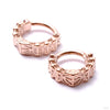 Penrose Clicker from Tether Jewelry in rose gold